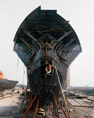 Edward Burtynsky China - Shipyards Large Page 8