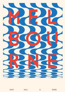 Melbourne Poster - v2a