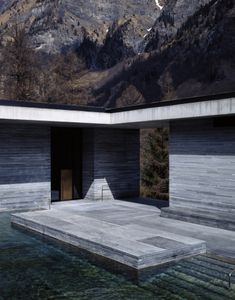 Peter Zumthor   Architects   Photography   Hélène Binet