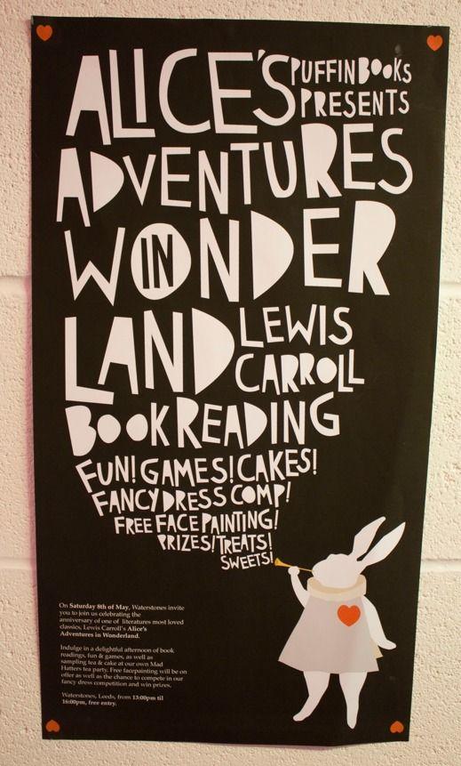 Alice's Adventures in Wonderland Design on Behance