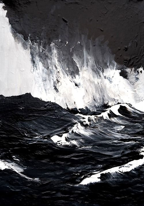 Ryan Donato - The sea in black-and-white byWerner Knaupp