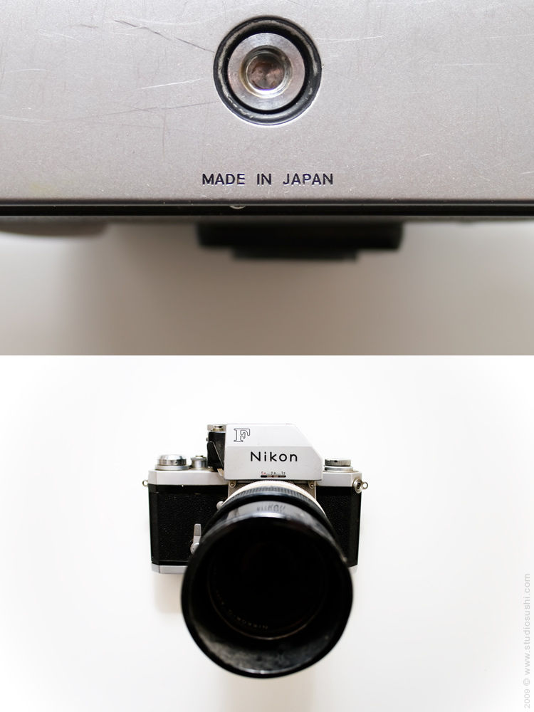 Galleries   Photography   Made In - #0001 - Nikon F - Made in Japan | Fubiz™