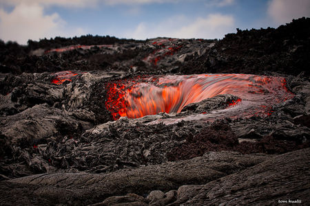 "500px   Photo ""Lava Tube Entry"" by Tom Kualii"