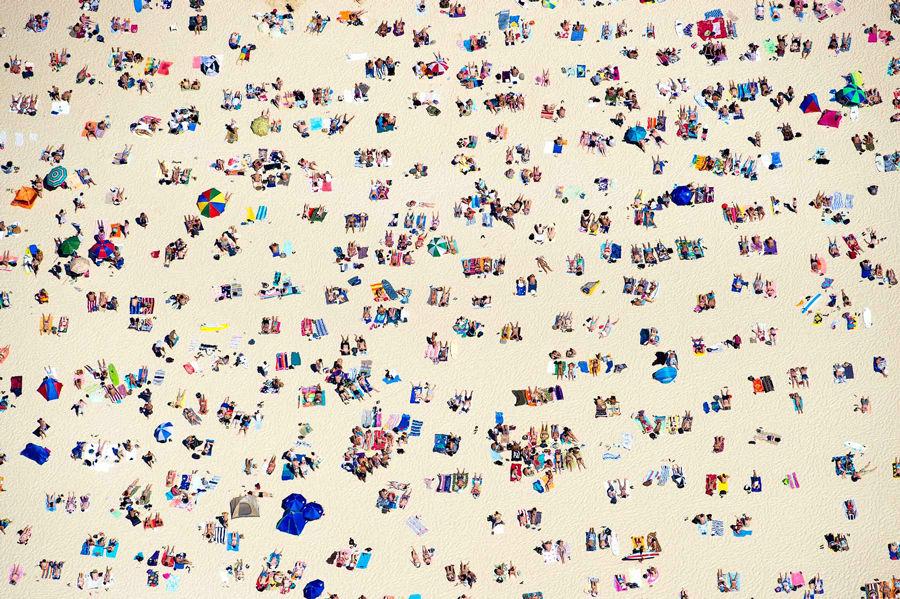 "500px   Photo ""New Years Day, Bondi Beach"" by Jason Davis"