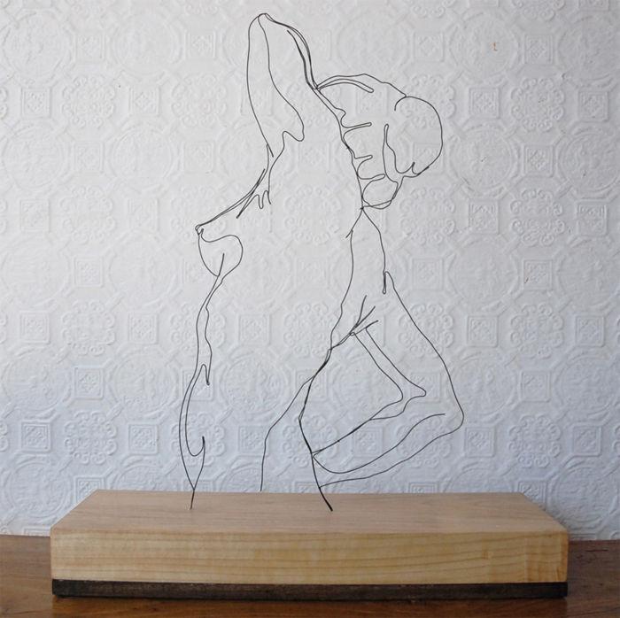Gavin Worth -- Wire Sculpture