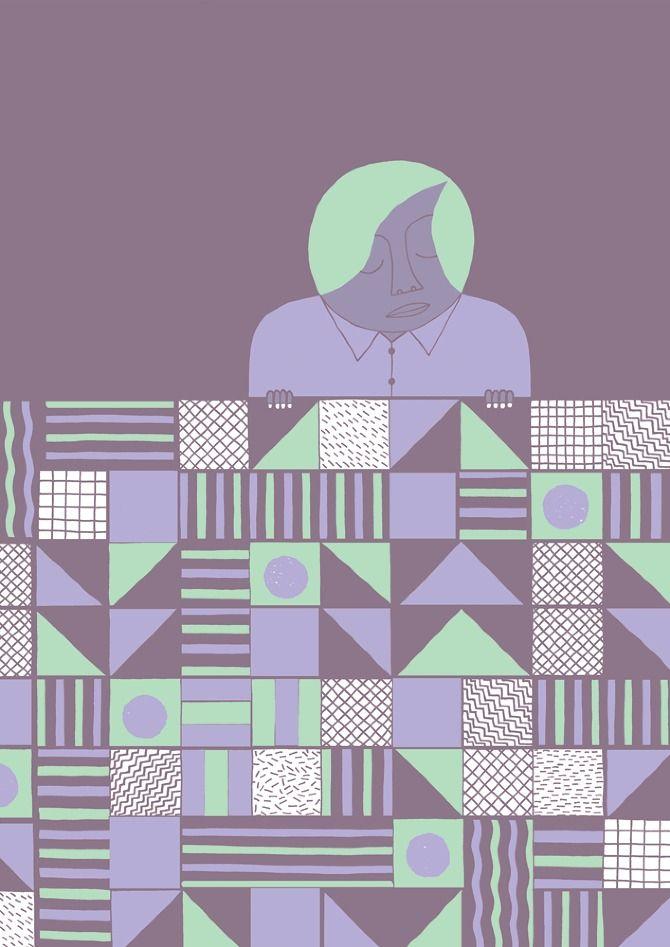 Batternburg Duvet - Simon Peplow   Visual Tinkerer
