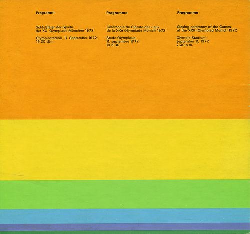 1972 Munich Olympics: Program on Flickr - Photo Sharing!