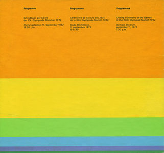 1972 Munich Olympics: Program on Flickr - Photo Sharing!