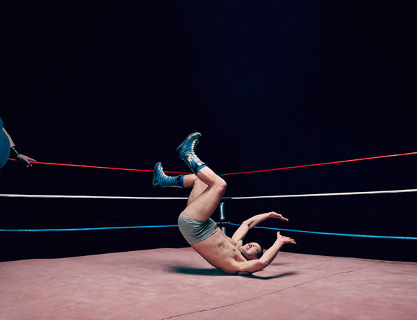 The Virtue of Wrestling on Behance