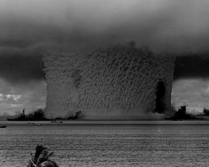 Incredible Archives of a Nuclear Bomb Test Underwater - My Modern Metropolis