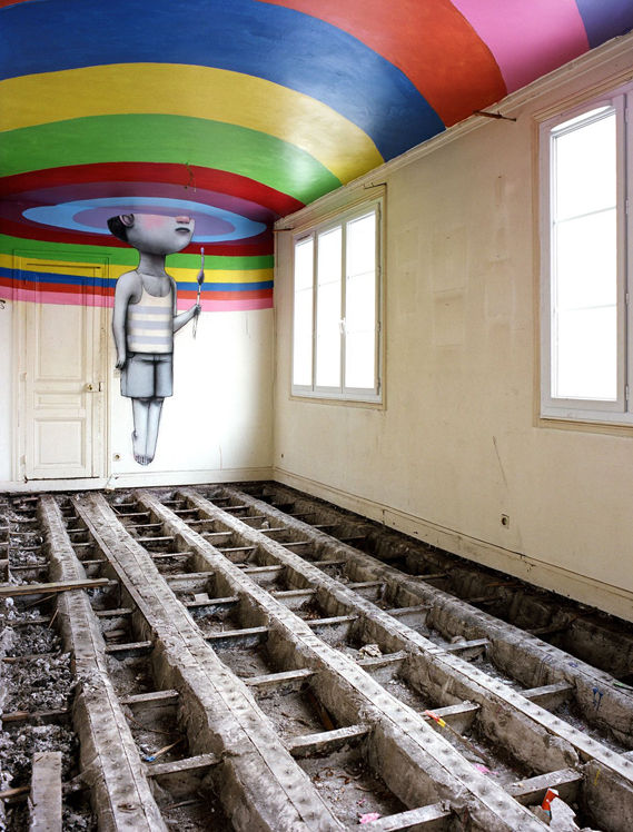Creative Review - Derelict nightclub reborn as secret street art gallery