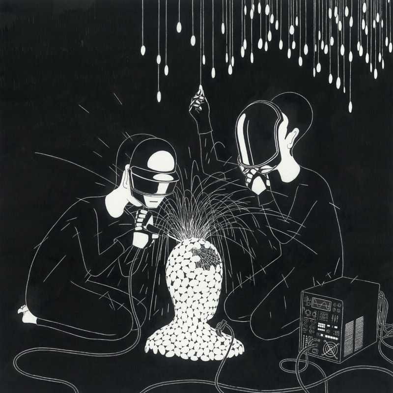 ?? ?? ?? ??, Random Access Memories - Daehyun Kim - Moonassi drawing