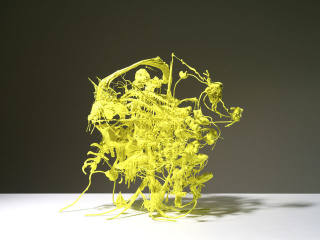 Ham Jin  Yellow Piece medium, 2013  Artsy