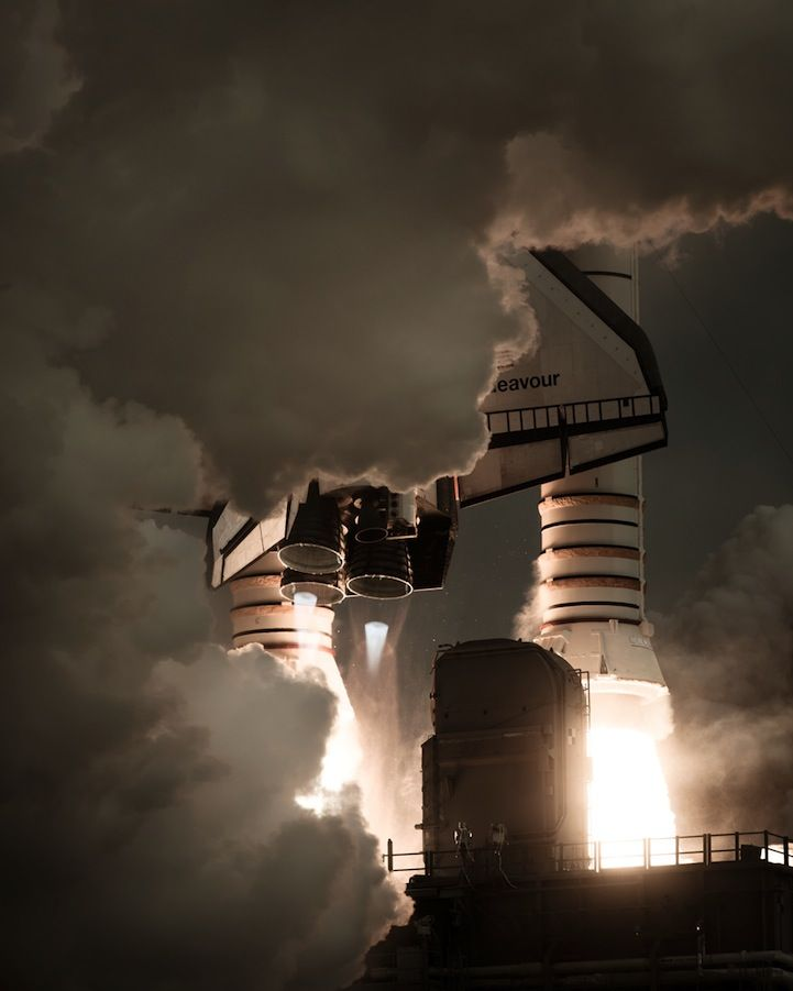 Incredible Photos of America's Space Shuttle Program - My Modern Metropolis