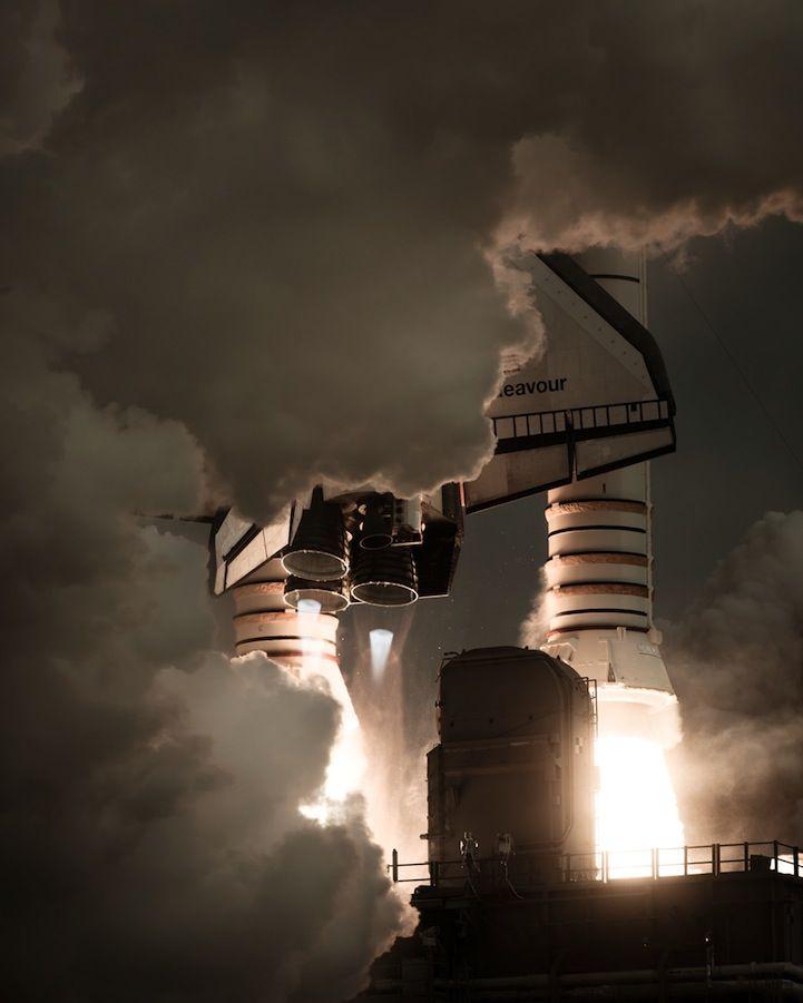 Incredible Photos of America's Space Shuttle Program - My Modern Metropolis