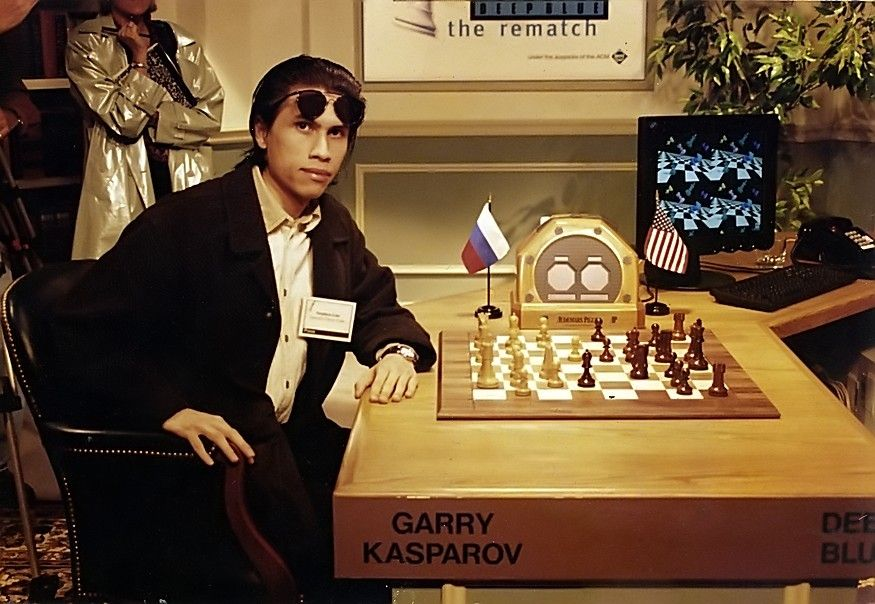 Flickr Photo Download: Deep Blue vs Kasparov - My Day on the Hotseat!