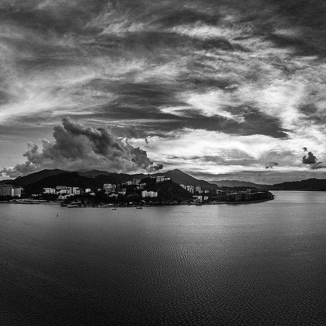 ????? Sunset cloudscape   ?????????? Chinese University of Hong Kong CUHK Panoramic Serenity   SML.20130607.6D.05426-SML.20130607.6D.05430-Pano.i5.131x94.SQ.BW  Flickr - Photo Sharing