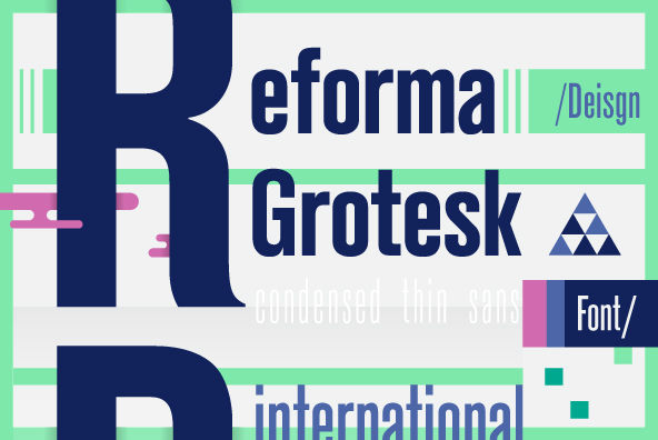 Reforma Grotesk by ParaType - Desktop Font and WebFont - YouWorkForThem