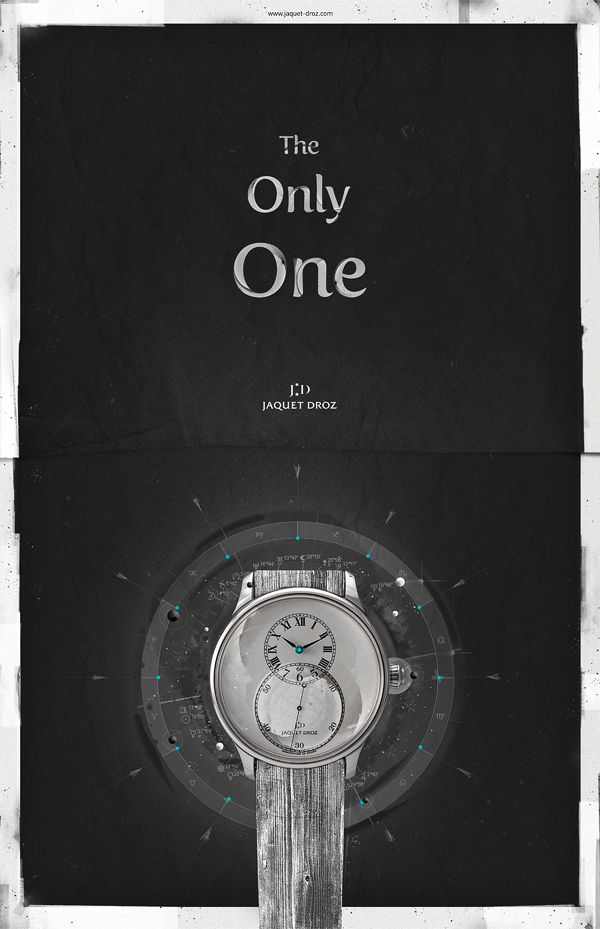 Jaquet Droz - The Only One on the Behance Network