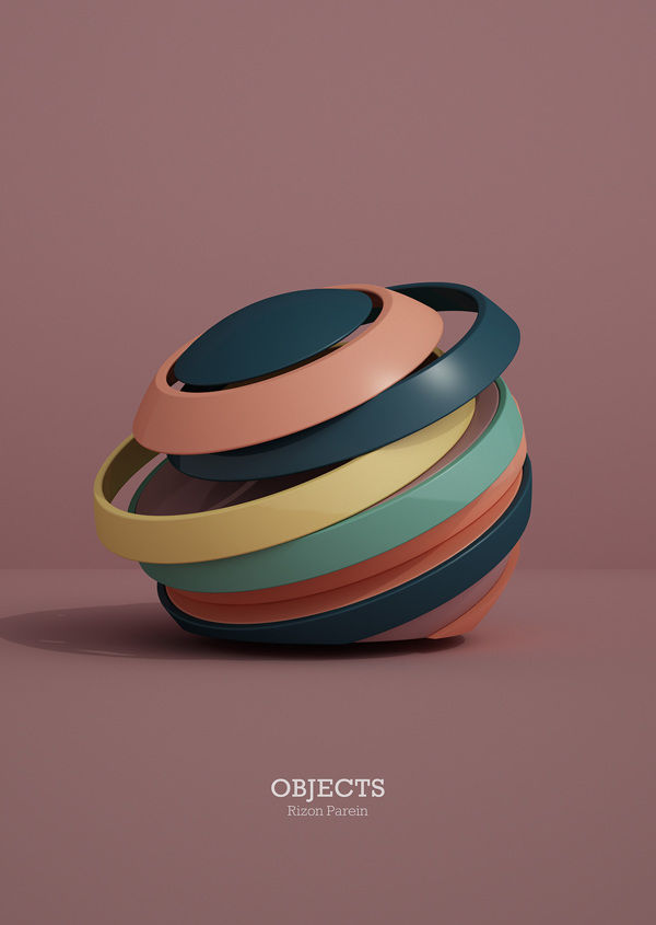 OBJECTS on Behance
