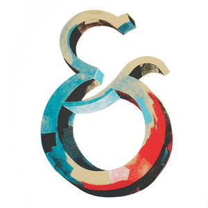 Ampersand print by Darren Booth available... - Typeverything