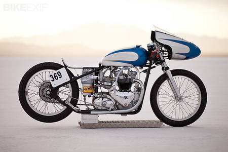 Triumph 6T Thunderbird salt racer | Bike EXIF