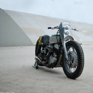 1952 Harley Panhead by Noise Cycles | Bike EXIF
