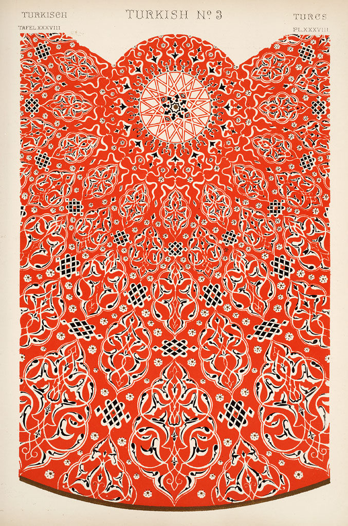 "Flickr Photo Download: Image Plate from Owen Jones' 1853 classic, ""The Grammar of Ornament""."