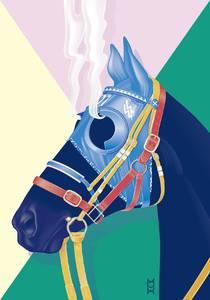 Hard race, steaming horse / Soirée graphique no°6