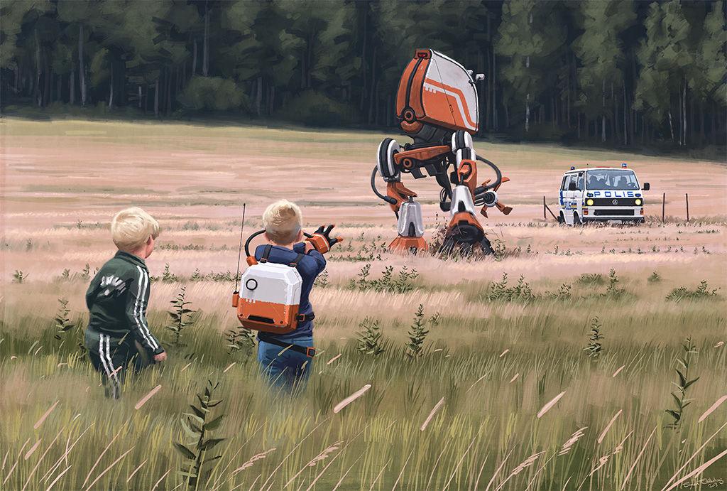 Fjärrhandske / by Simon Stålenhag