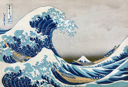 The great Wave off Kanagawa / by Hokusai