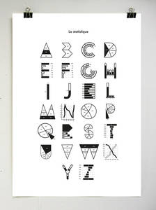 Typography Stat on Behance