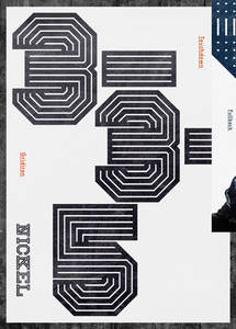 Gridiron typeface on Behance