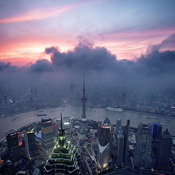 Shanghai cityscapes on Behance