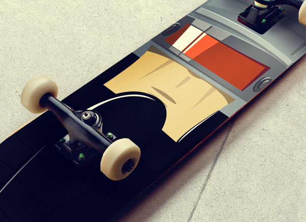 Robot Sk8boards on Behance