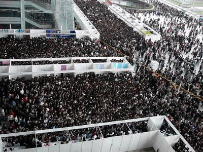 Flickr Photo Download: Job Fair In China - Thank God We Were Not There
