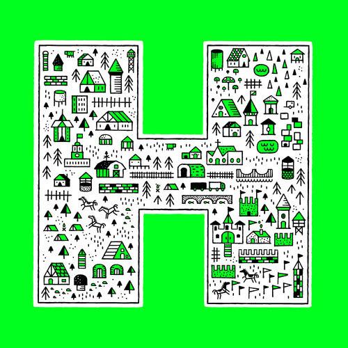 Typeverything.com H by Dan Cassaro - Typeverything