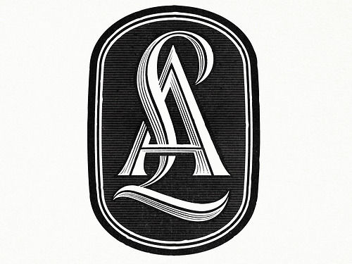 Typeverything.com - LetterAlley Monogram by Ged... - Typeverything