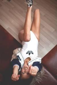Adidas Originals girl