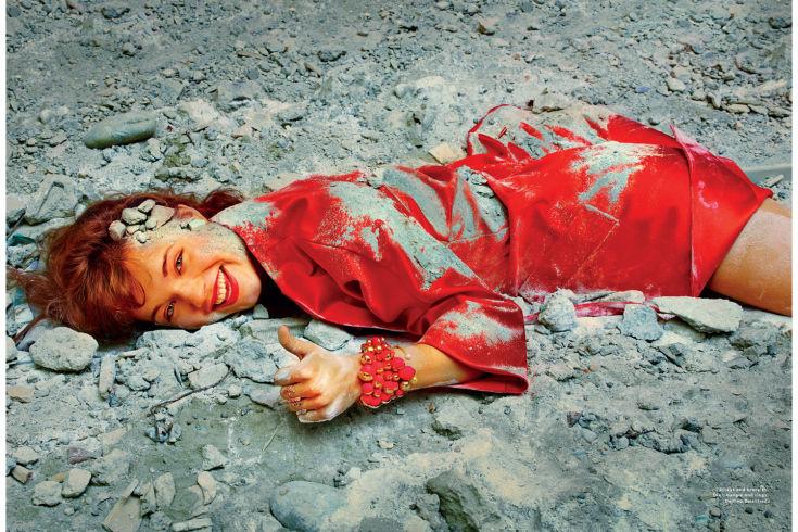 Maurizio Cattelan's Bold New York Magazine Fashion Portfolio - LightBox