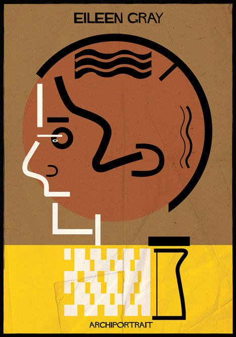 Archiportraits by Federico Babina