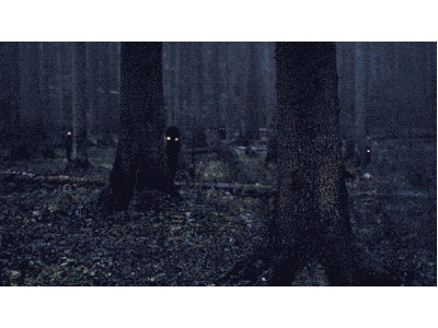 Creepy spirits in the woods