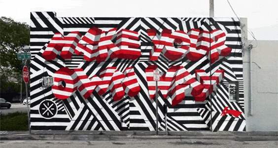 Animated Street Art Graffiti GIF – Fubiz™