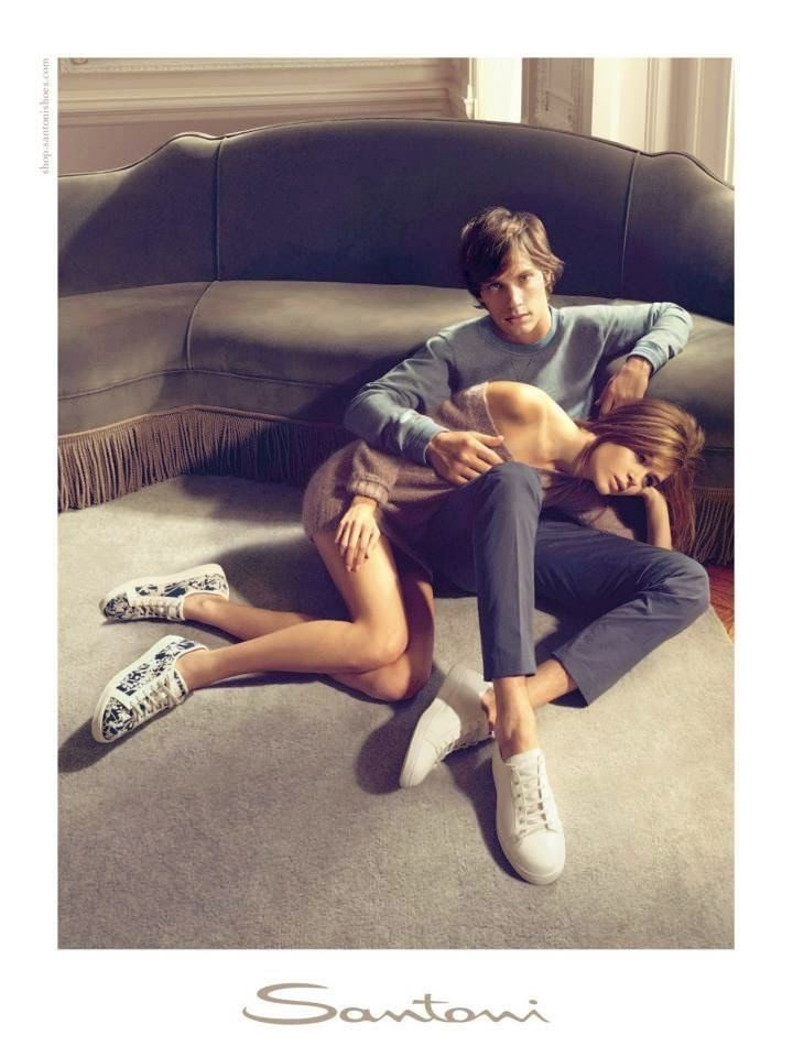 Santoni Ad Campaign Spring/Summer 2014