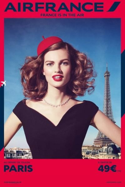 Air France Ad Campaign Spring/Summer 2014