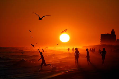Smithsonian Magazine — Photo of the Day: Pensacola Beach at Sunset...