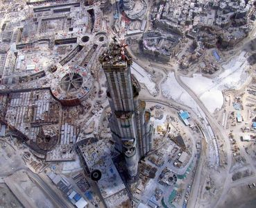 Flickr Photo Download: Burj Dubai construction