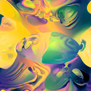 Day-Glo Fractal Visions Inspired By Alan Turing | The Creators Project