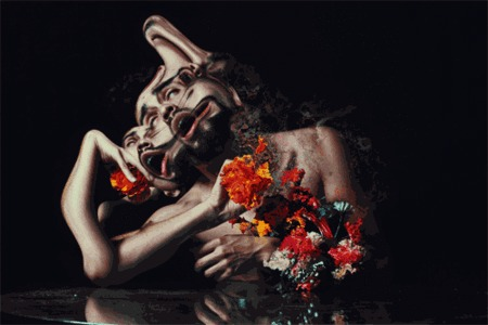 Artist Creates Hallucinatory Portraits In A Series Of Stunning Cinemagraphs | The Creators Project