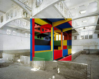 Geometric Art By Georges Rousse Is Only Visible From One Angle | DeMilked